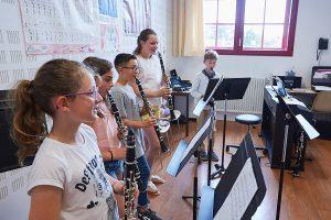 Elèves clarinettistes