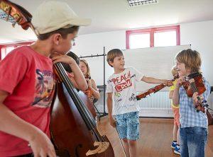 """Le cours de """"Musique Ensemble cordes"""""""