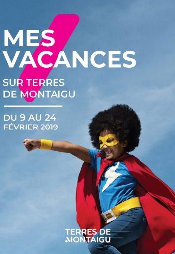 Image : couverture - Mes vacances sur Terres de Montaigu - Hiver 2019