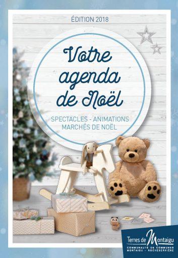 Image : couverture du guide de Noël 2018 - Terres de Montaigu