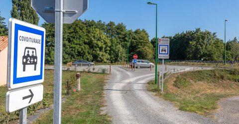Image - Aires de covoiturage - Terres de Montaigu
