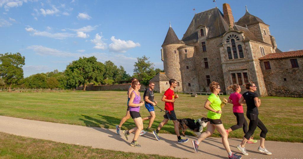 Images - course logis de la Chabotterie - Terres de Montaigu