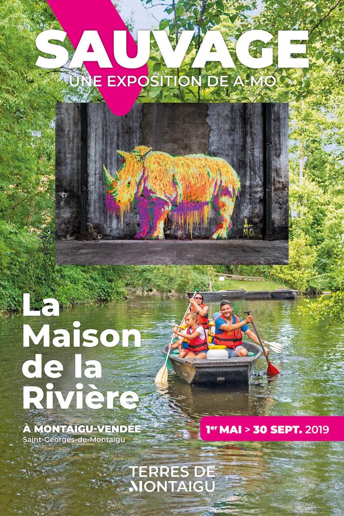 """Résultat de recherche d'images pour """"exposition art et nature maison de la rivière saint georges de montaigu"""""""