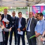 Image : Visite de la ministre des Solidarités et de la Santé Agnès Buzyn à Montaigu-Vendée - Terres de Montaigu