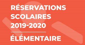 Illustration : Réservations scolaires 2019-2020 - Élémentaire - Terres de Montaigu