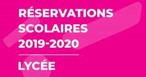 Illustration : Réservations scolaires 2019-2020 - Lycée - Terres de Montaigu