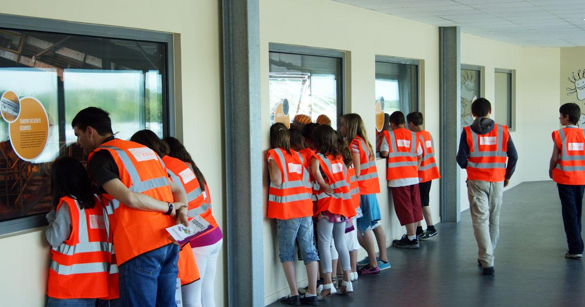 Image : Visite scolaire - Trivalandes - Trivalis - Terres de Montaigu