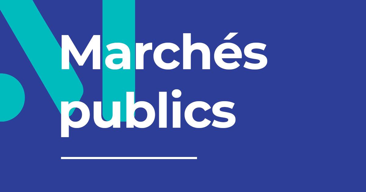 Image : Marchés publics - Terres de Montaigu