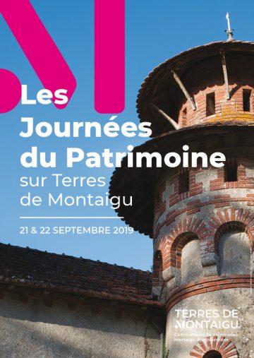 Image : Programme - Journées Européennes du Patrimoine 2019 - Terres de Montaigu