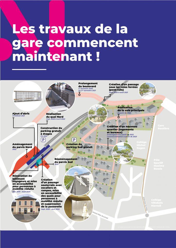 Image : Plan d'aménagement - PEM Gare de Montaigu-Vendée - Terres de Montaigu