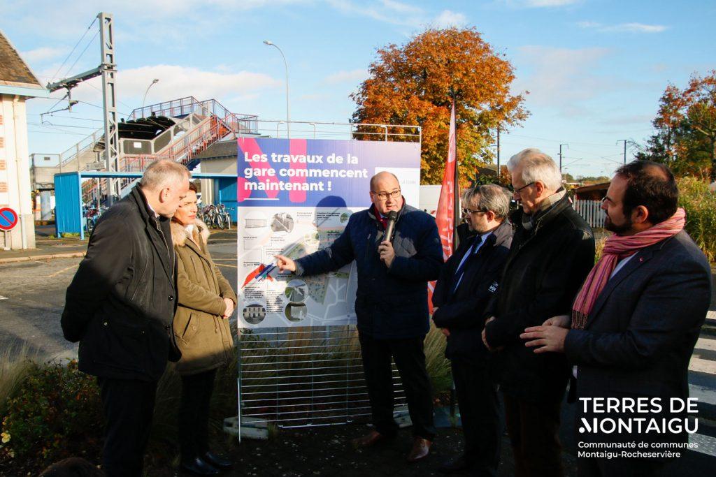 Image : Lancement des travaux de la gare SNCF de Montaigu-Vendée - Terres de Montaigu