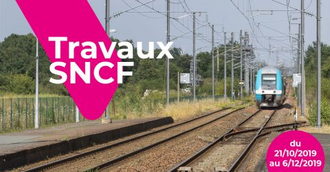 Image : Travaux SNCF - 2019 - Montaigu-Vendée