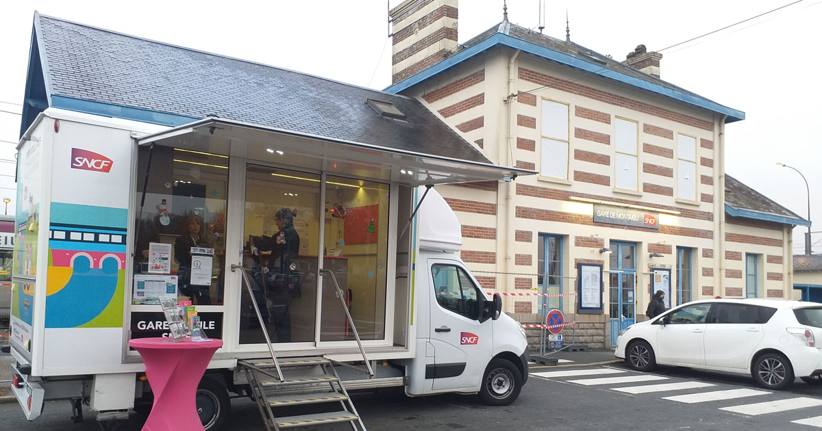 Image : Gare mobile à Montaigu-Vendée - Terres de Montaigu