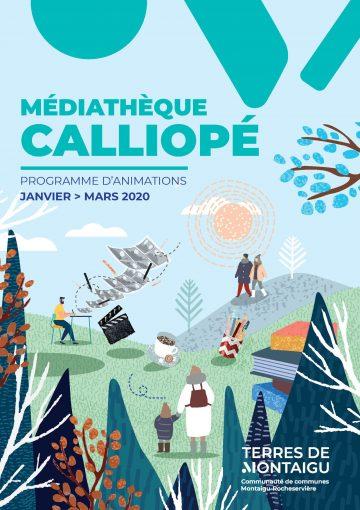 Image : Programme d'animations Hiver 2020 - Médiathèque Calliope - Terres de Montaigu