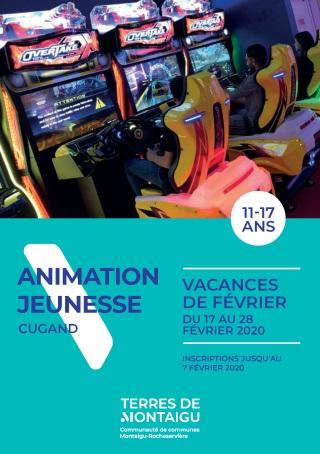 Image : Couverture : Programme Février 2020 - Animation Jeunesse Cugand - Terres de Montaigu