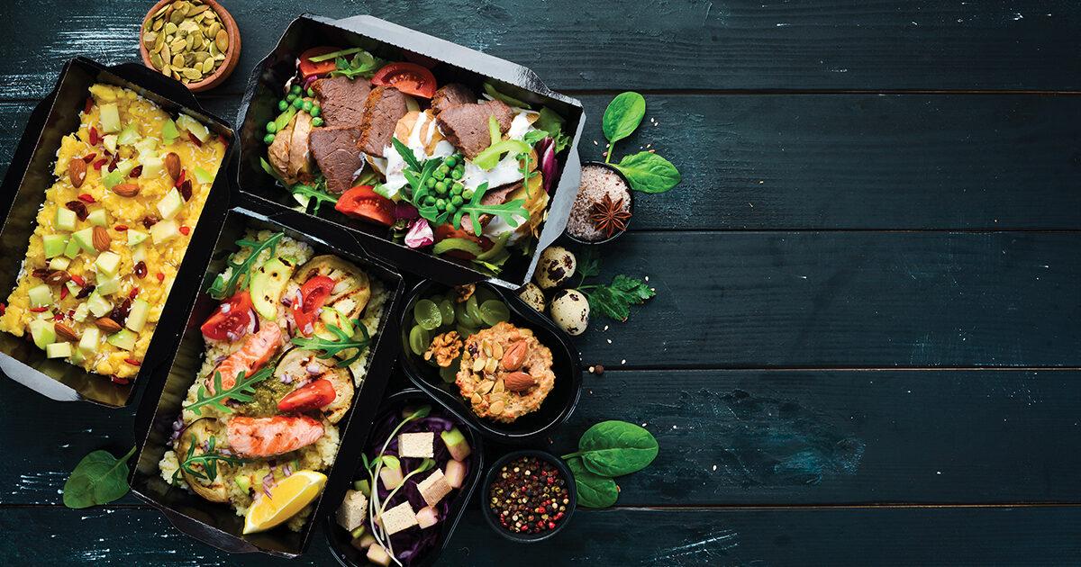 Photo : repas à emporter Terres de Montaigu