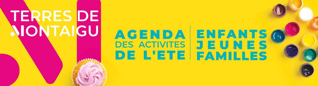 Bannière : Agenda des activités de l'été - Terres de Montaigu