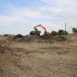 Photo : réaménagement du parking Nord