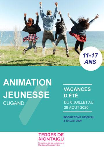 Image : Couverture - Programme Été 2020 - Animation Jeunesse - Cugand