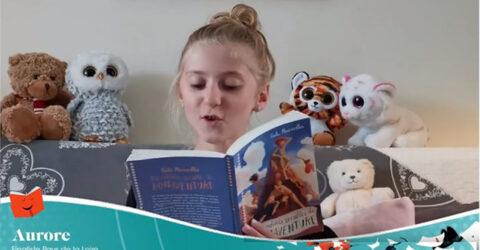 Photo : Aurore Vallas, lauréate des petits champions de la lecture 2020