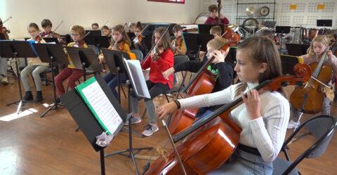L'orchestre du conservatoire intercommunal de Terres de Montaigu
