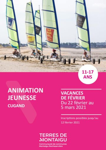 Couverture du programme des vacances de février 2021 Cugand