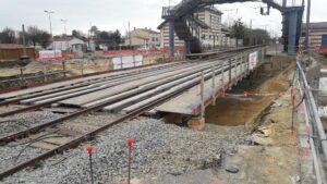 Travaux passage souterrain- Gare de Montaigu-Vendée