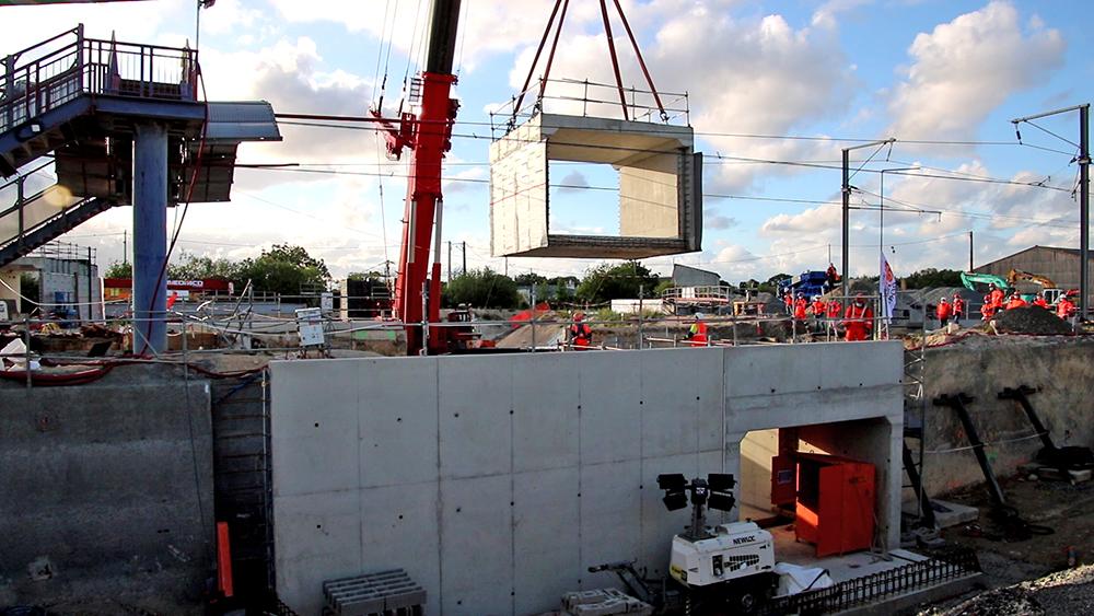 Opération coup de poing mai 2021 : mise en place du souterrain