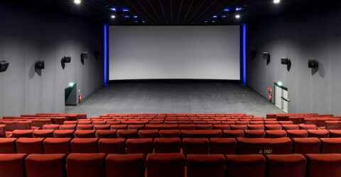Photo : salle de cinéma - Grand écran