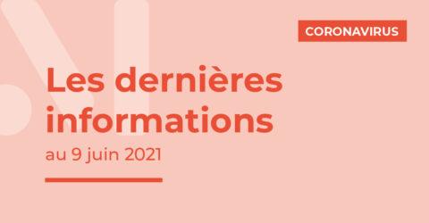 Covid-19 : les dernières informations au 9 juin 2021