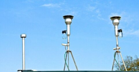 Image : Mesures de la qualité de l'air - Terres de Montaigu