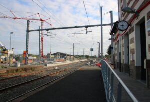 Gare de Montaigu-Vendée sans passerelle - aout 2021