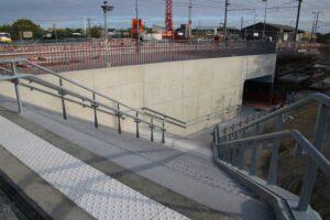Passage souterrain gare montaigu aout2021